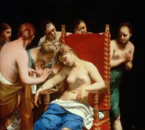 Guido Cagnacci (1601–1663) - The Death of Cleopatra