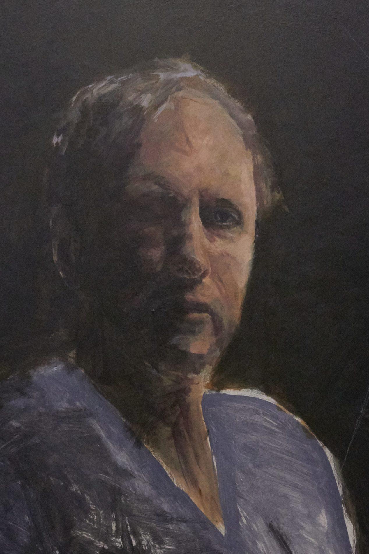 Jeroen Self Portrait - Process-10. ©Jeroen Carelse