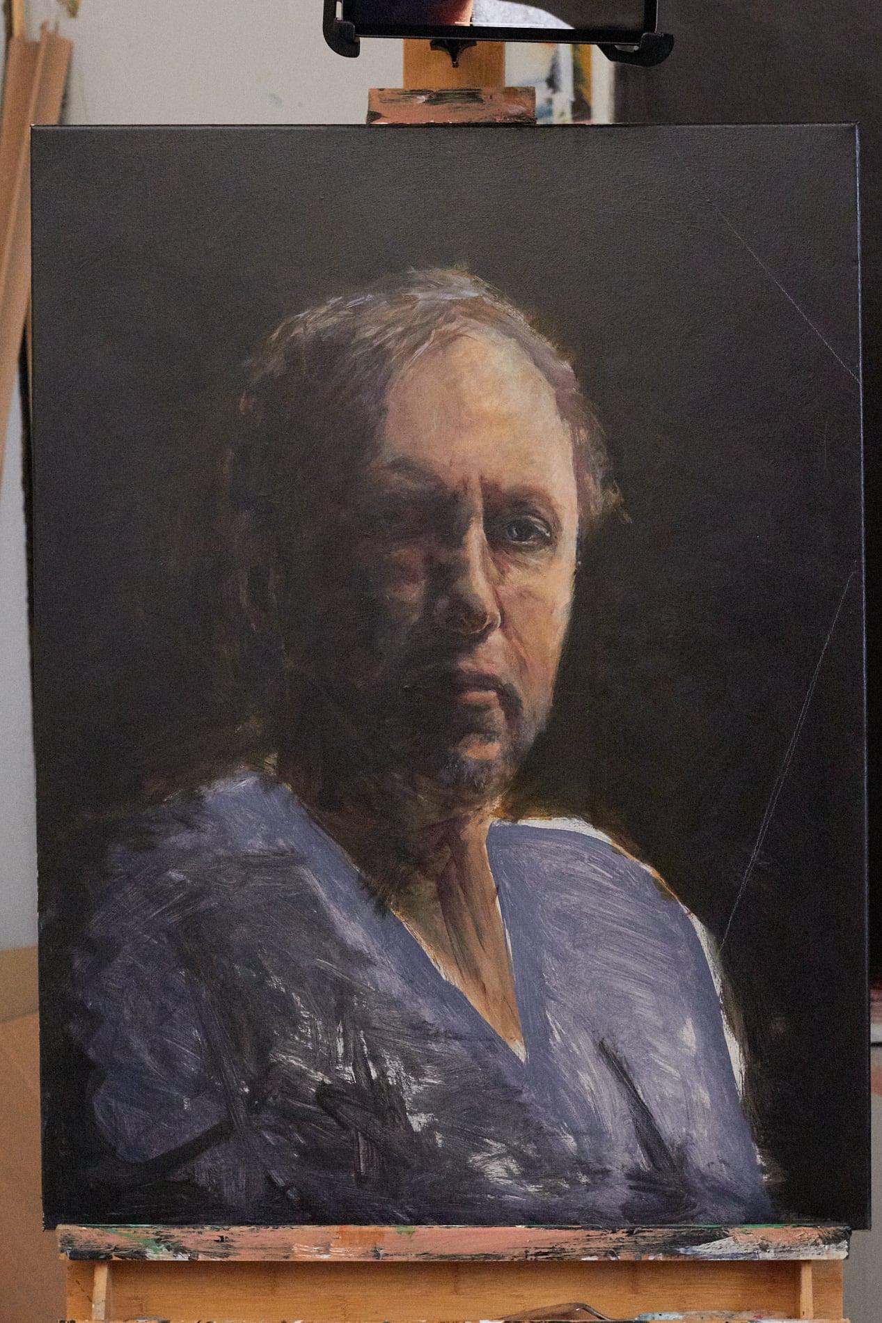 Jeroen Self Portrait - Process-12. ©Jeroen Carelse