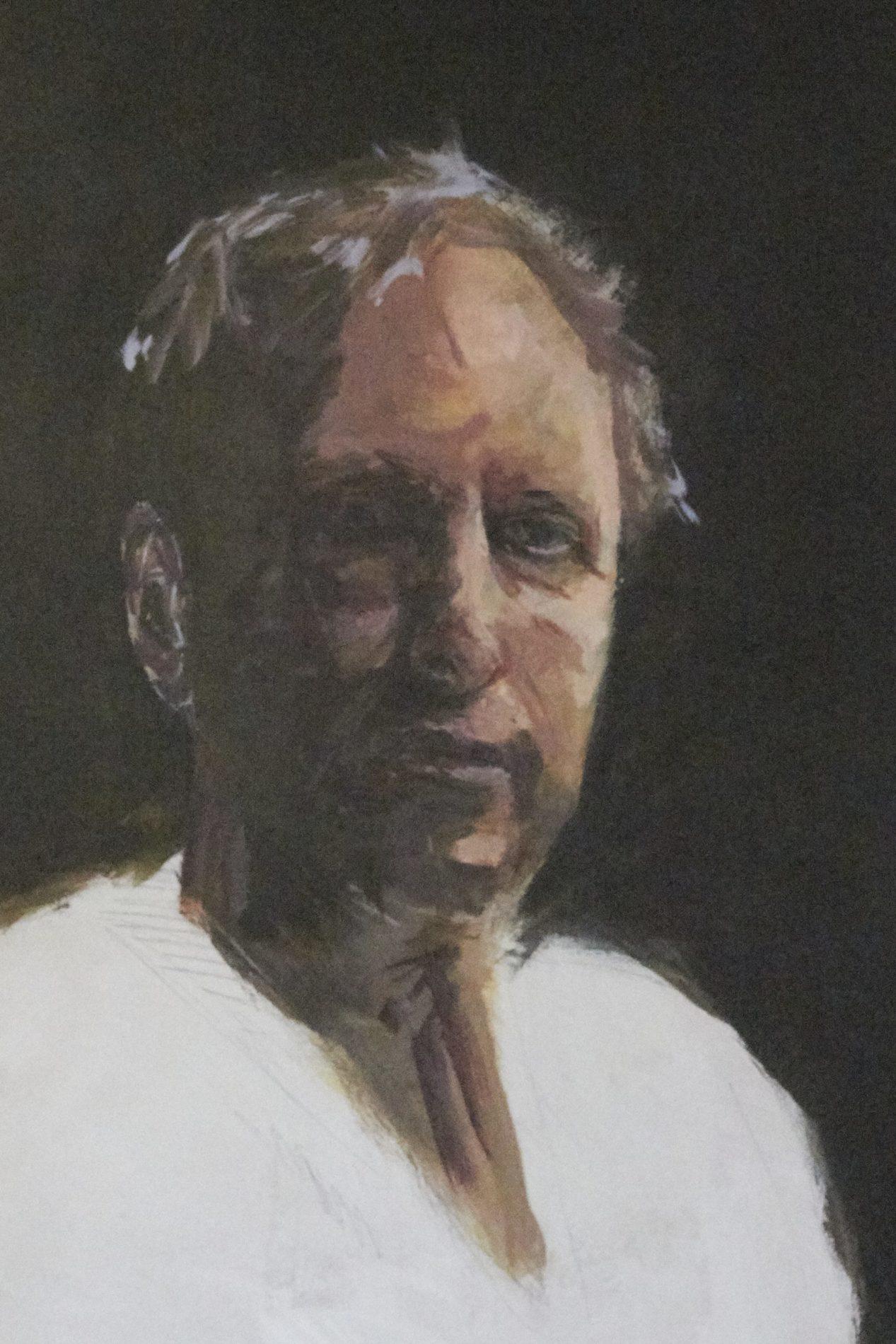 Jeroen Self Portrait - Process-5. ©Jeroen Carelse