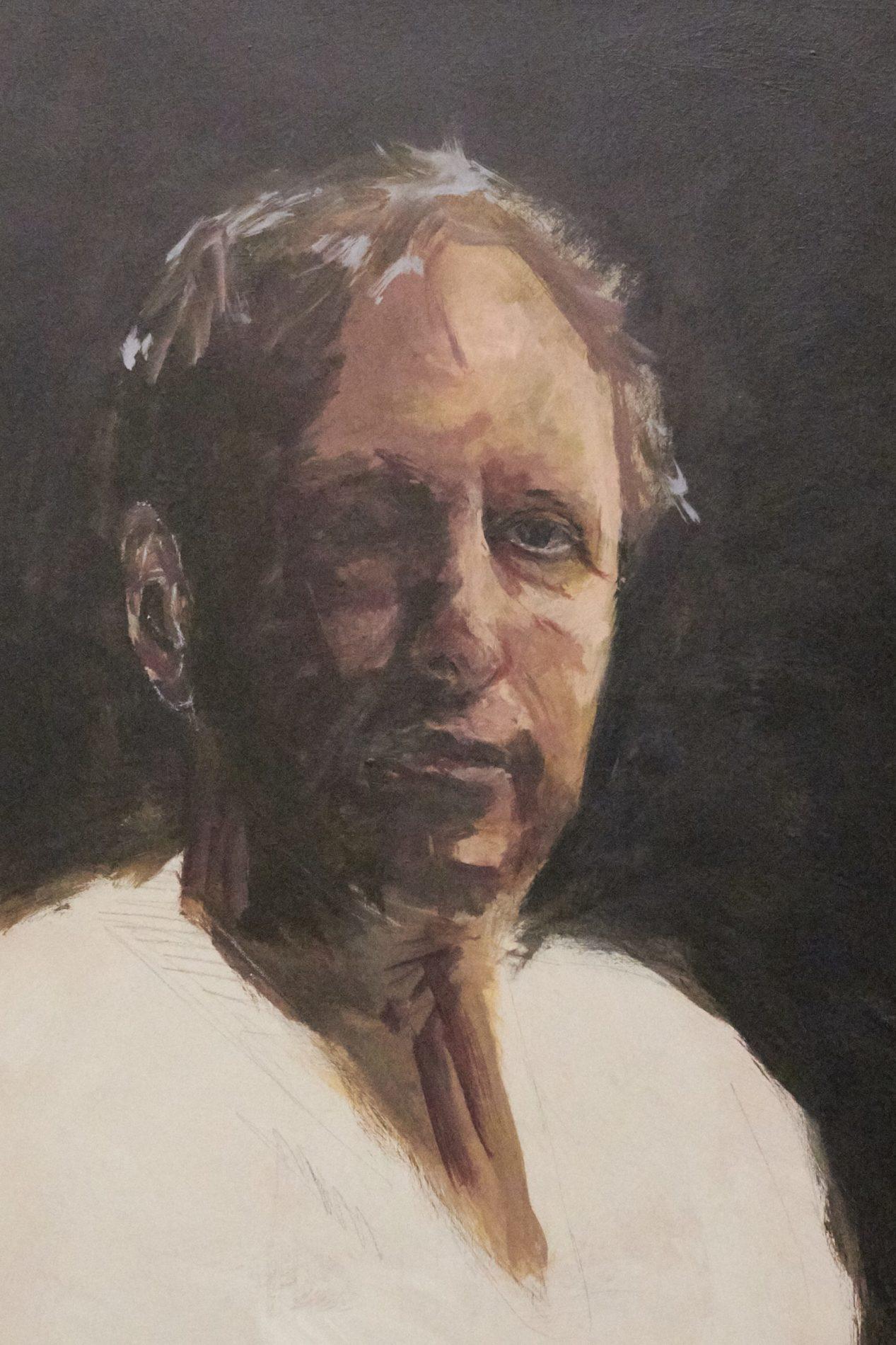 Jeroen Self Portrait - Process-7. ©Jeroen Carelse
