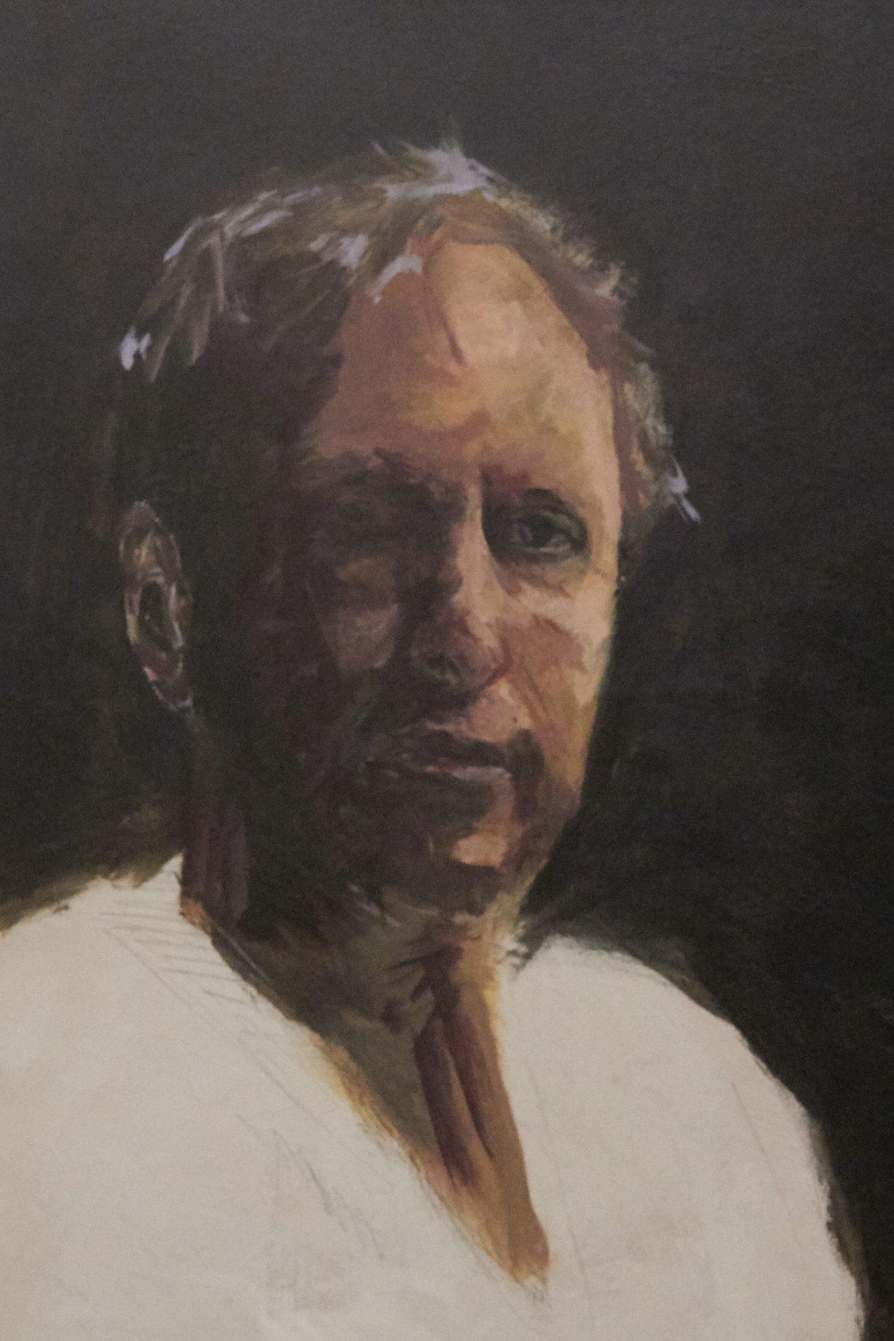 Jeroen Self Portrait - Process-8. ©Jeroen Carelse