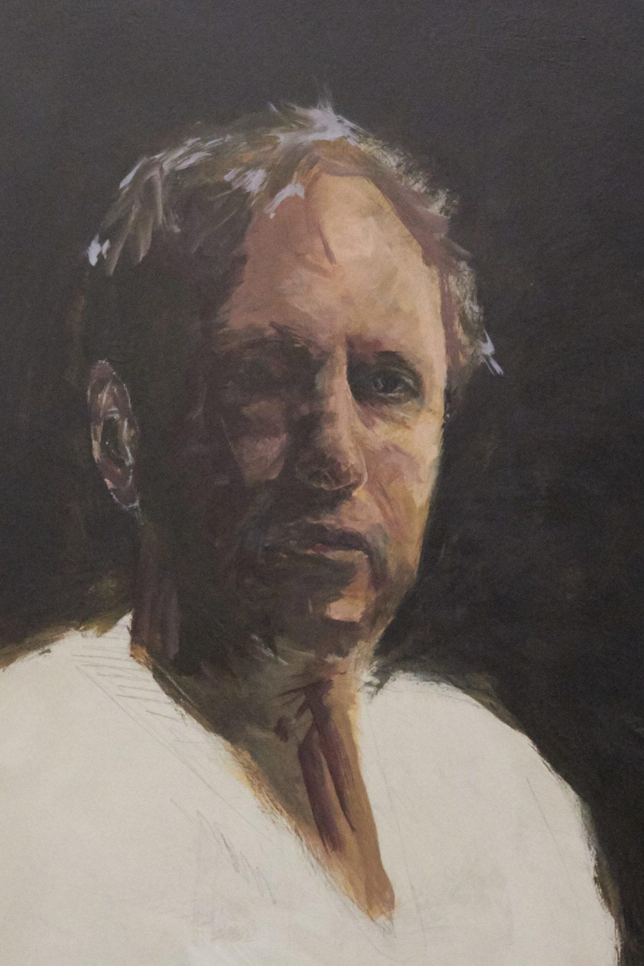 Jeroen Self Portrait - Process-9. ©Jeroen Carelse